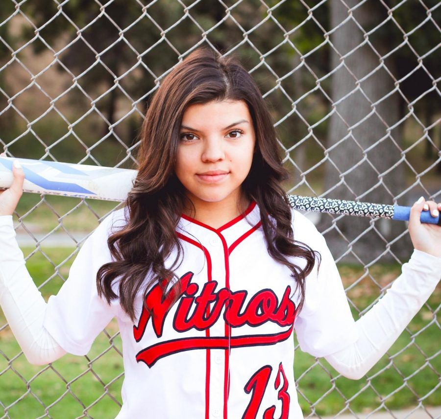 Maeli Ibarra Plans to Take GHS Softball All the Way