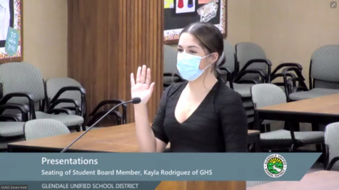 ASB President, Kayla Rodriguez, Named Student Board Representative