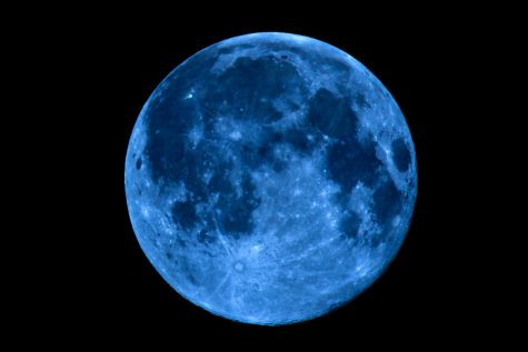 The blue moon will show up this Halloween night!