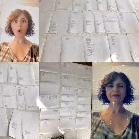 Mrs. Tumanyan Is Writing in 'Rona