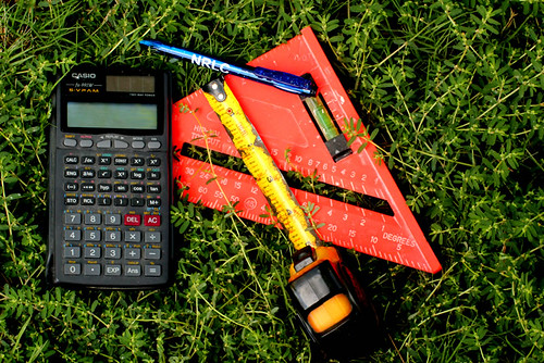 math outside by Wanda Dechant is licensed under CC BY-NC-SA 2.0