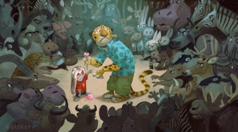 Zootopia concept art by Cory Loftis