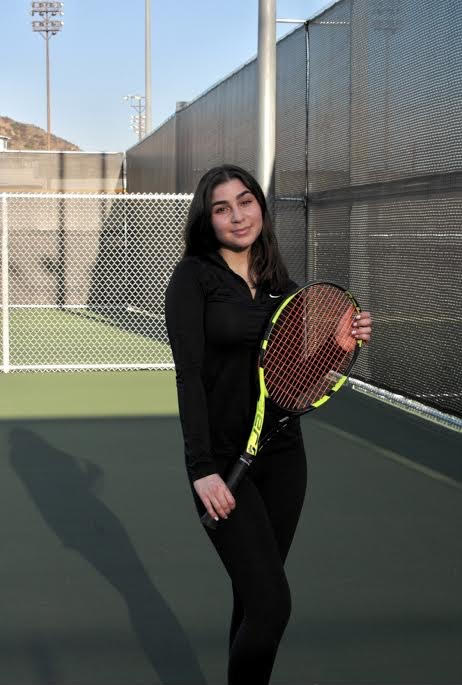 Eleen Garemanian Refuses to Lose on the Tennis Court
