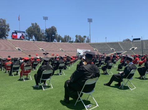 GHS Class of 2021 Graduates at Rose Bowl