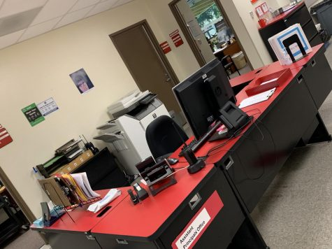 Ms. Masoudis workspace at GHS