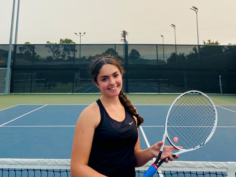Sarah Davtyan Serves Up Victories for GHS